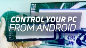 control computer with android